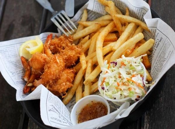 Fish and chips traditional street food_Photo by Julia Karnavusha on Unsplash