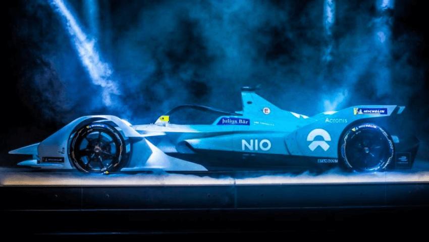 Nio Formula E Motorsport Vehicle Wrap