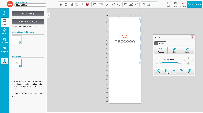 Upload your design 4