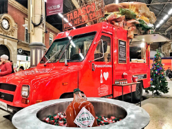 Tabasco food truck conversion with bespoke sandwich prop
