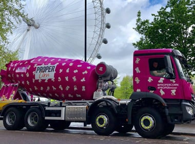 Propercorn promotional vehicle