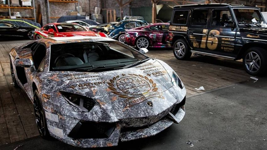 Gumball Rally premium vehicle wrapping