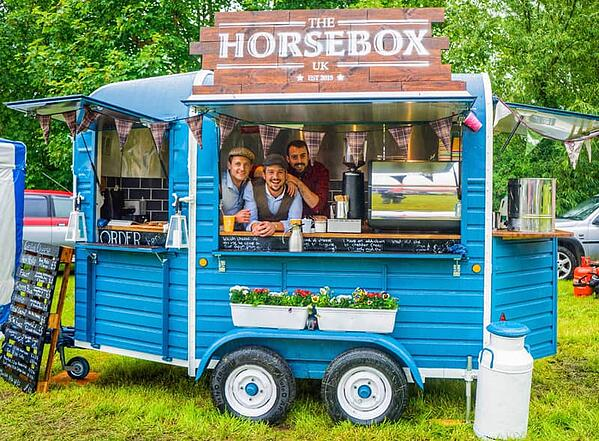 Investing in a food truck - a vintage horsebox conversion