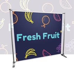 Raccoon online branding store - custom printed banners