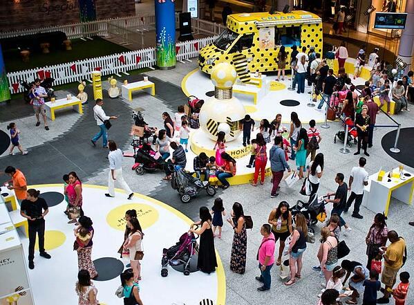 Experiential Retail_Marc Jacobs Honey Product Promo