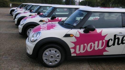 Wowcher Mini Cooper car wraps - How long do car wraps take