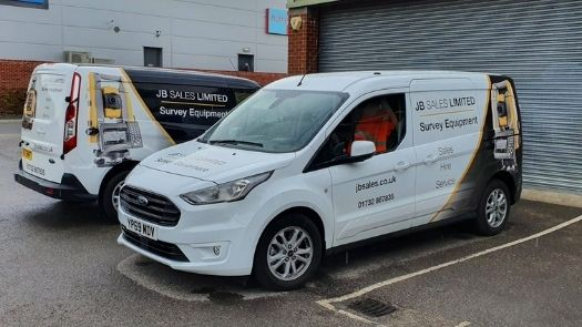 Will a car wrap cover scratches? Blog cover image of a newly branded vehicle wrap